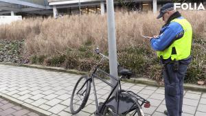 Video   'Buiten het rek betekent dat de fiets wordt weggehaald'